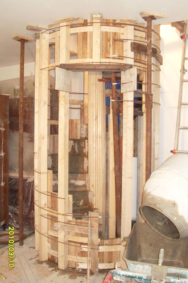 Scale a chiocciola impresa edile verona for Schemi di scala a chiocciola